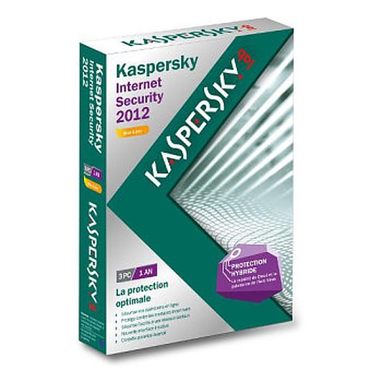 Antivirus et sécurité Kaspersky Lab Internet Security 2012 - 3 postes - 1 an