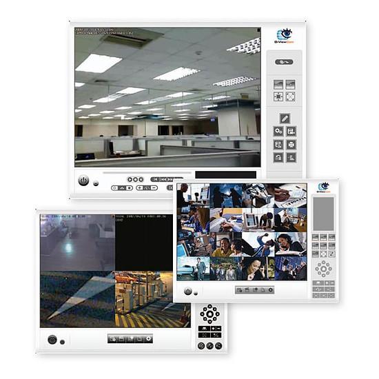Caméra IP D-Link - DCS-932L (Pack de 4) - Autre vue