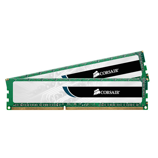 Mémoire Corsair ValueSelect DDR3 2 x 4 Go 1333 MHz CAS 9