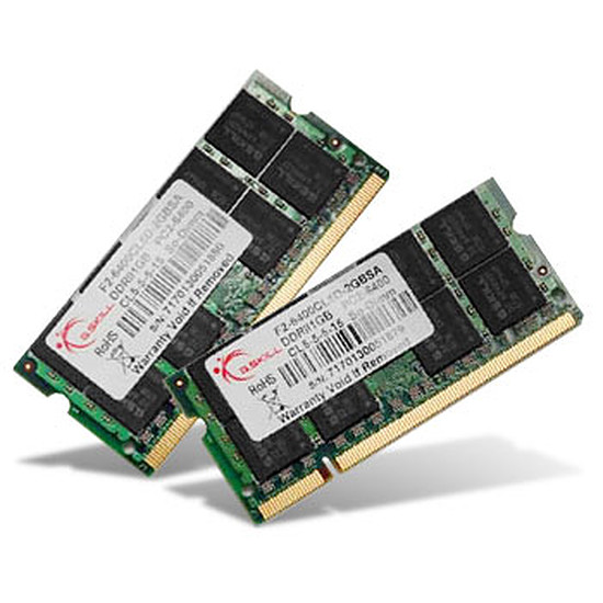 Mémoire G.Skill SO-DIMM DDR3 2 x 4 Go 1600 MHz SQ CAS 9