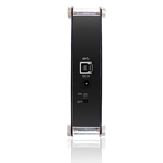 """Boîtier pour disque dur Icy Box IB-351StU3-B - 3,5"""" - Autre vue"""
