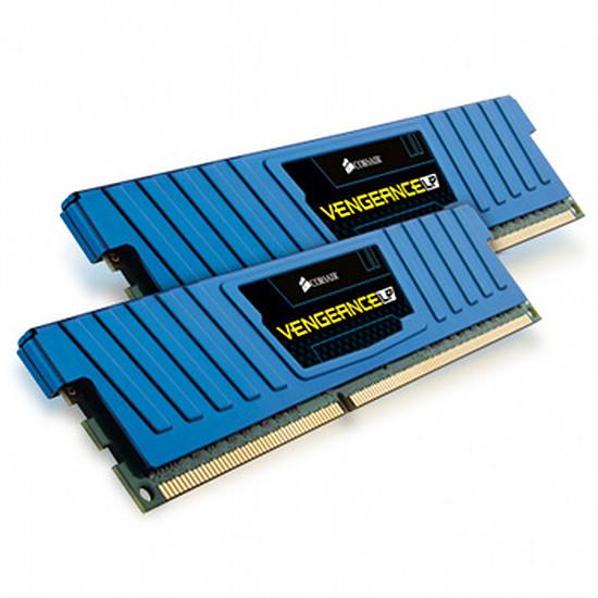 Mémoire Corsair VENGEANCE BLUE DDR3 2 x 4 Go 1600 MHz CAS 9 LP