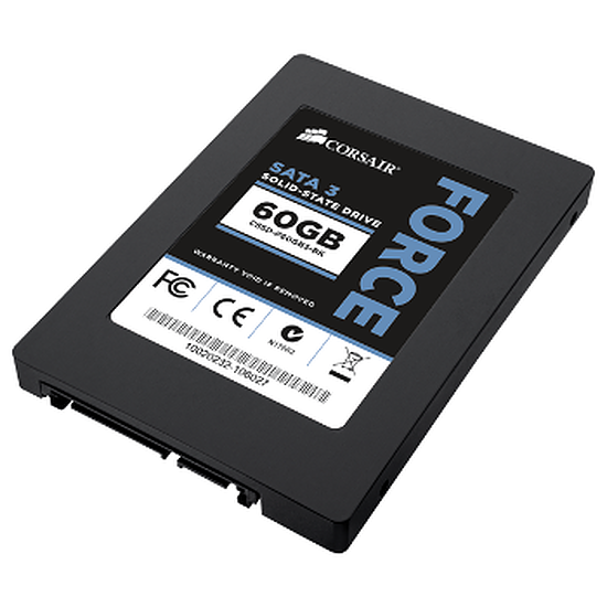 Disque SSD Corsair Force Series 3 - 60 Go (CSSD-F60GB3-BK)