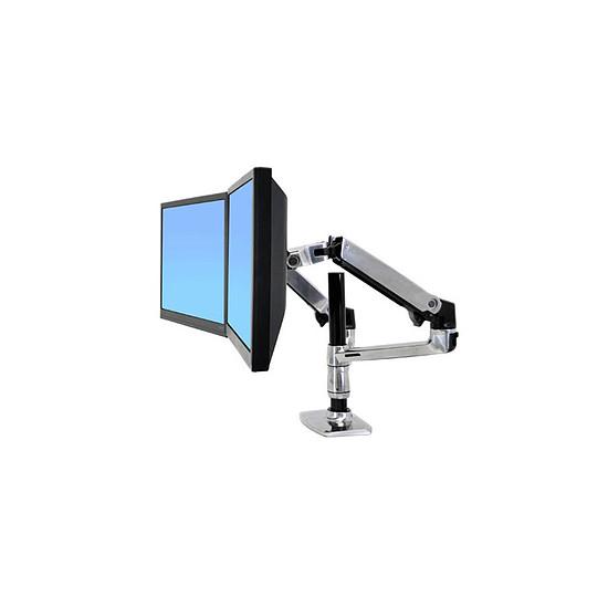 Bras & support écran PC Ergotron Bras double écrans LX 45-248-026