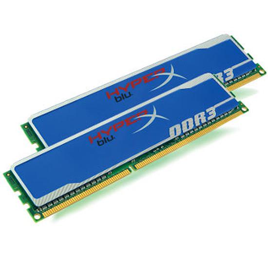 Mémoire Kingston Kit HyperX Blu DDR3 2 x 4 Go PC12800 CAS 9