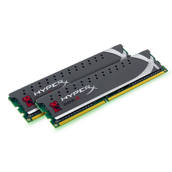 Mémoire Kingston HyperX Genesis Grey DDR3 2 x 4 Go PC12800