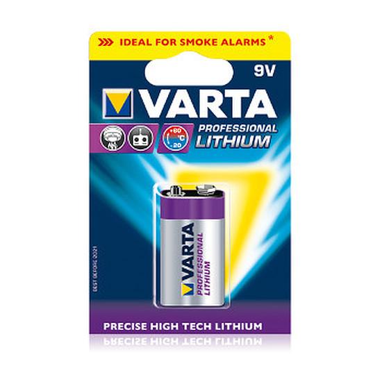Pile et chargeur Varta Professionnelle Pile Lithium 9V 6LR61 (à l'unité)