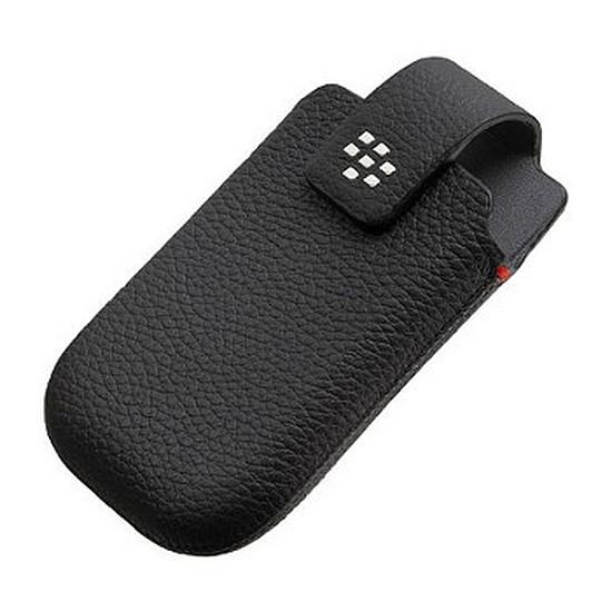 Coque et housse BlackBerry Etui pour BlackBerry Torch 9800 (noir)
