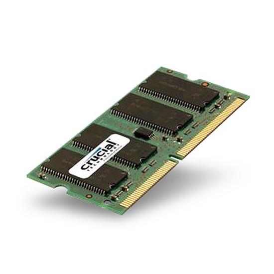 Mémoire Crucial 4 Go (1 x 4 Go) DDR3L 1600 MHz CL11 DR SO-DIMM