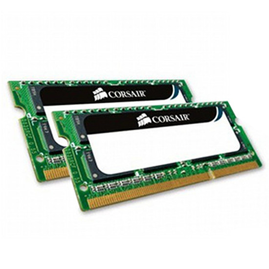 Mémoire Corsair CMSA8GX3M2A1333C9 - SO-DIMM DDR3 2x4 Go PC10600