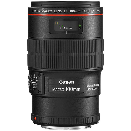 Objectif pour appareil photo Canon EF 100mm f/2.8L IS USM Macro - Autre vue