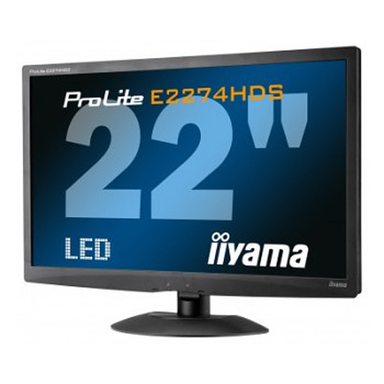 Écran PC Iiyama ProLite E2274HDS-B2