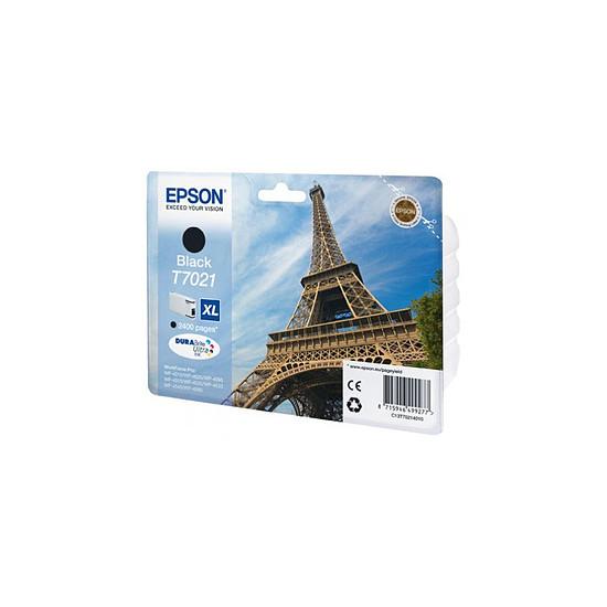 Cartouche imprimante Epson T7021 XL Noir - C13T70214010