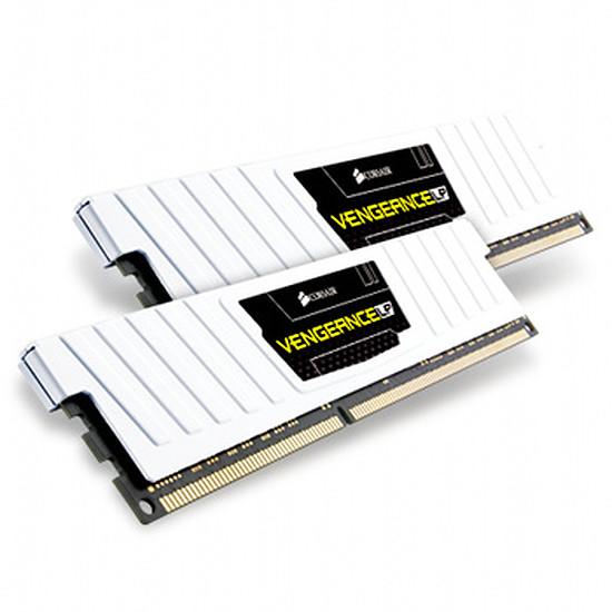 Mémoire Corsair VENGEANCE WHITE 2 x 4 Go DDR3 1600 MHz CAS 9 LP