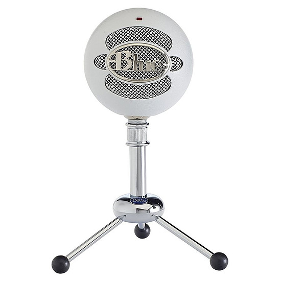 Microphone Blue Microphones Snowball - Blanc