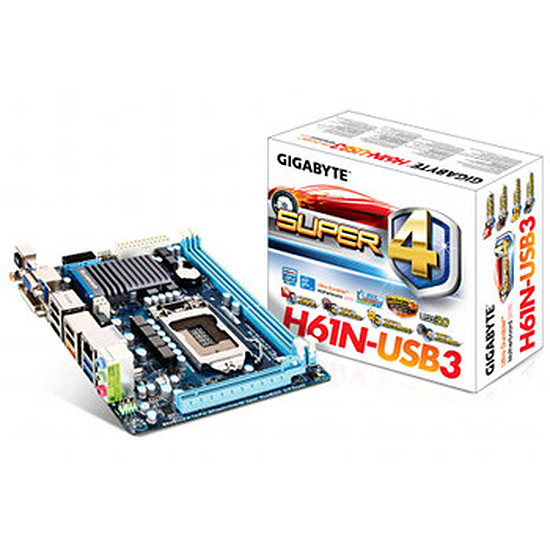 Carte mère Gigabyte GA-H61N-USB3 (Révision B3)