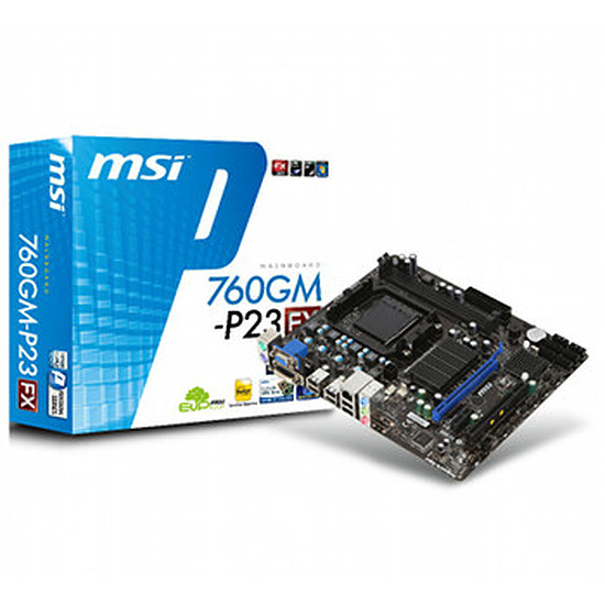 Carte mère MSI 760GM-P23 (FX)