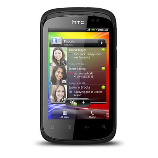Smartphone et téléphone mobile HTC Explorer (noir)
