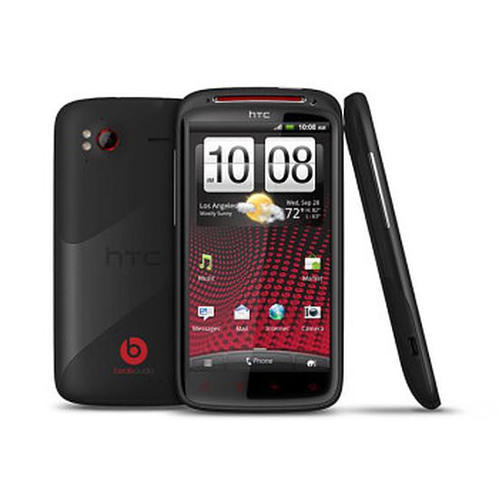 Smartphone et téléphone mobile HTC Sensation XE Beats (noir)