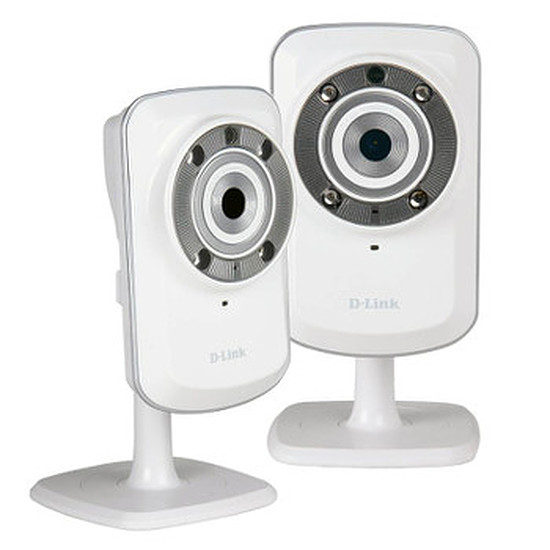 Caméra IP D-Link DCS-932L-TWIN - Pack 2 caméras IP DCS-932L