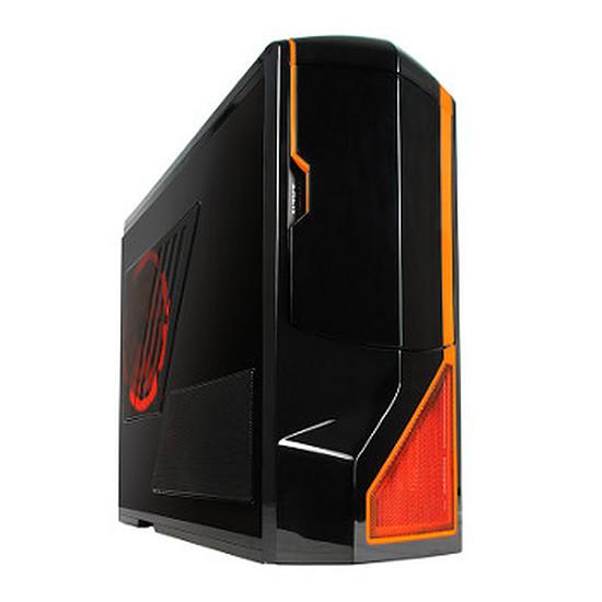 Boîtier PC NZXT Phantom USB 3.0 Edition - Noir / Orange