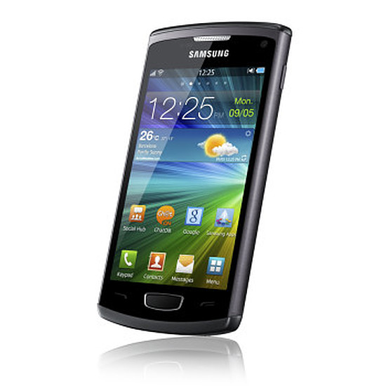 Smartphone et téléphone mobile Samsung Wave 3 (noir)