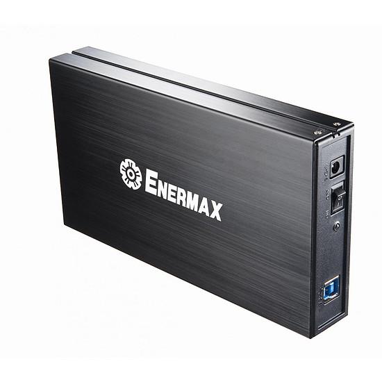 """Boîtier pour disque dur Enermax Brick 3,5"""" - USB 3.0 - Autre vue"""