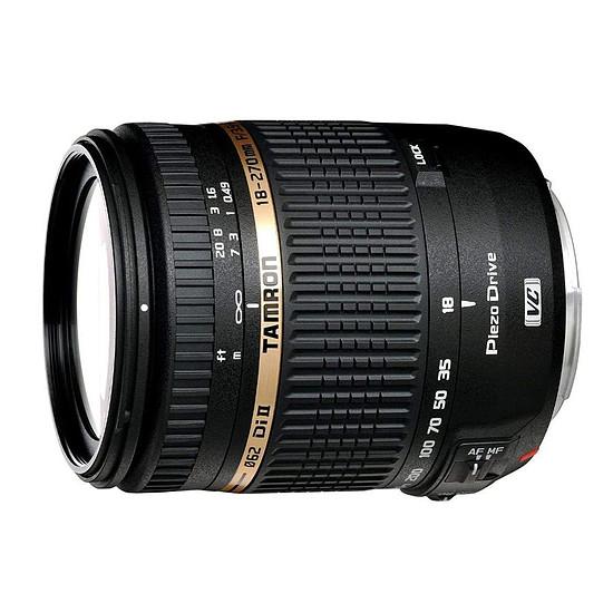 Objectif pour appareil photo Tamron AF 18-270mm f/3.5-6.3 Di II VC PZD (Nikon)