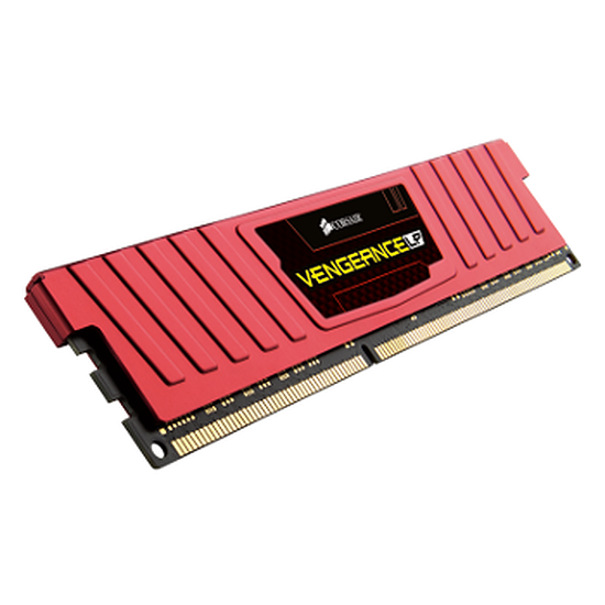 Mémoire Corsair VENGEANCE RED 2 x 4 Go DDR3 1866 MHz CAS 9 LP