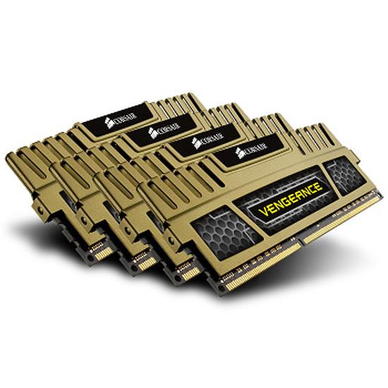 Mémoire Corsair VENGEANCE KHAKI 4 x 4 Go DDR3 1600 MHz CAS 9