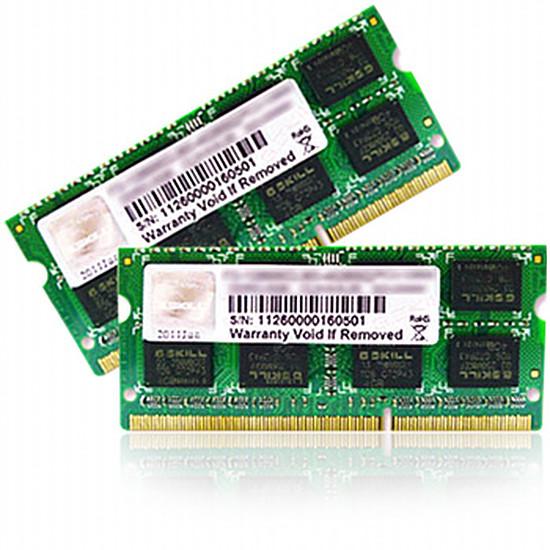 Mémoire G.Skill SO-DIMM DDR3 2 x 8 Go 1333 MHz SQ CAS 9