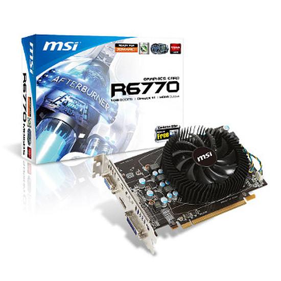 Carte graphique MSI Radeon HD 6770 1Go (R6770-MD1GD5)