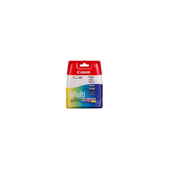 Cartouche imprimante Canon Multipack CLI-526 C/M/Y