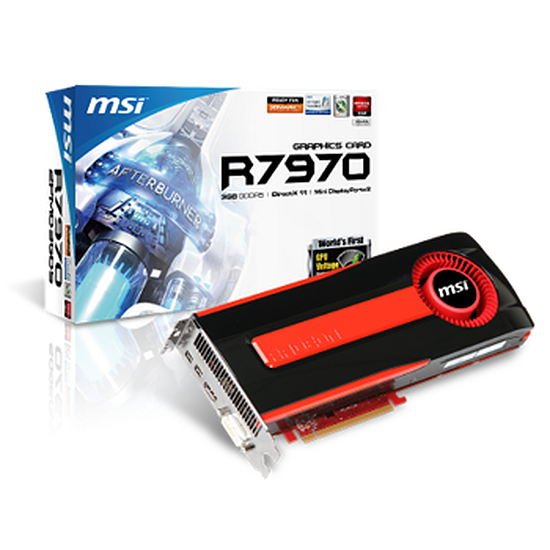 Carte graphique MSI Radeon HD 7970 - 3 Go