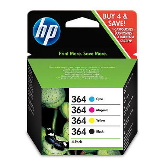 Cartouche imprimante HP Combo Pack n°364 - SD534EE
