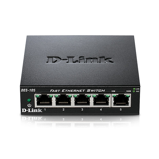Switch et Commutateur D-Link DES-105 - Autre vue