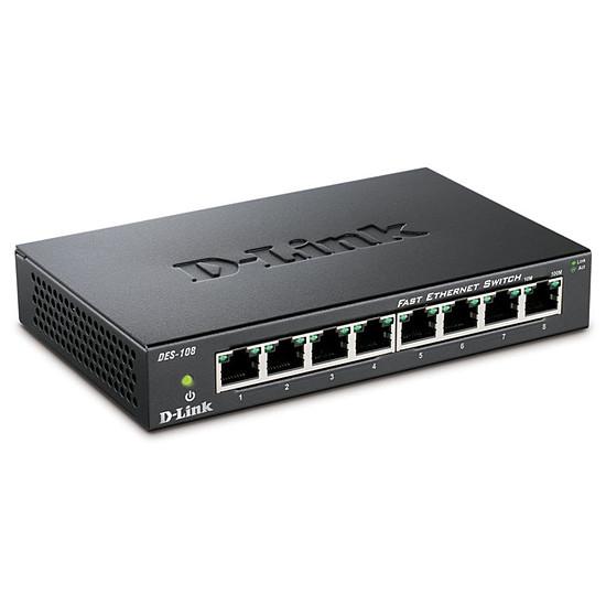 Switch et Commutateur D-Link DES-108