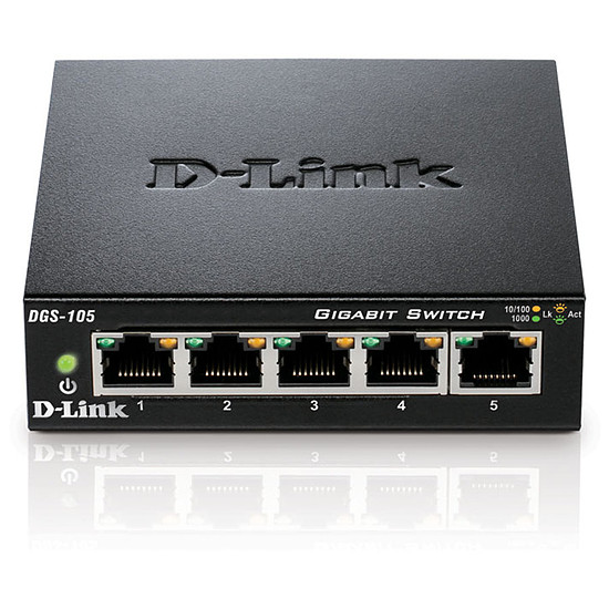 Switch et Commutateur D-Link DGS-105