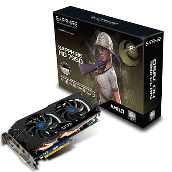 Carte graphique Sapphire Radeon HD 7950 OC - 3 Go