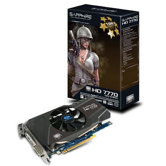 Carte graphique Sapphire Radeon HD 7770 - 1 Go