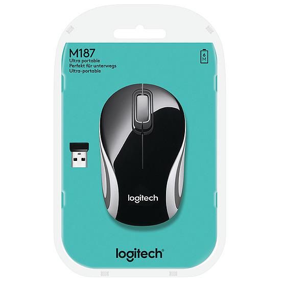 Souris PC Logitech M187 - Noir - Autre vue