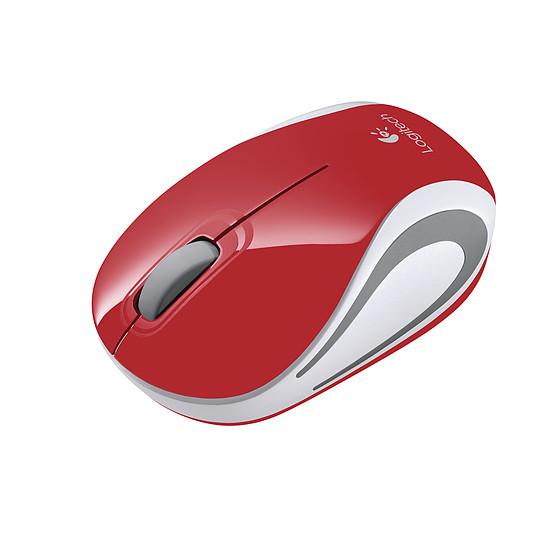 Souris PC Logitech M187 - Rouge - Autre vue