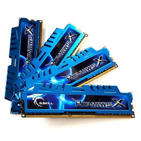 Mémoire G.Skill Kit Extreme3 4 x 8 Go 1600 MHz Ripjaws X CAS9