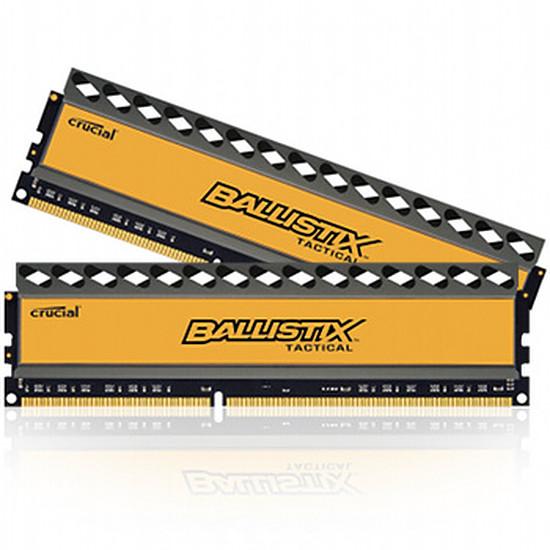 Mémoire Ballistix Tactical DDR3 2 x 4 Go 1600 MHz CAS 8