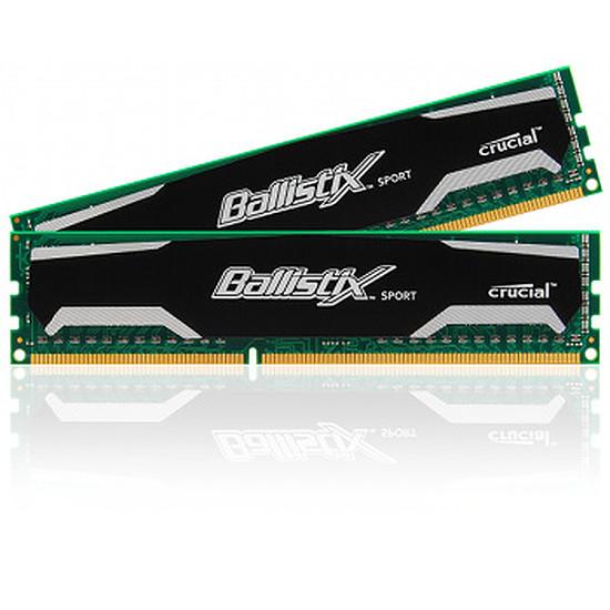 Mémoire Ballistix Sport DDR3 2 x 4 Go 1600 MHz CAS 9