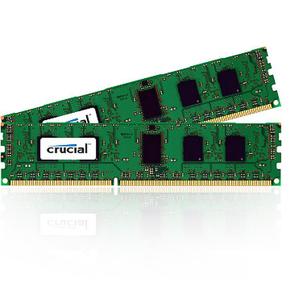 Mémoire Crucial DDR3 2 x 8 Go PC10600 ECC Registered