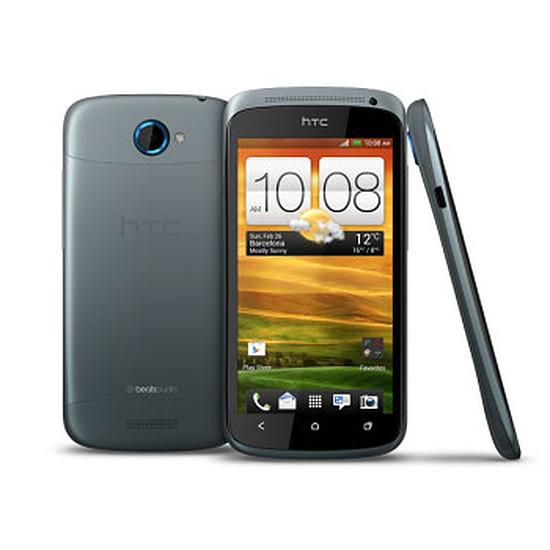 Smartphone et téléphone mobile HTC One S (gris métal)