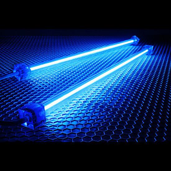 Filtre anti-poussière Revoltec Kit 2 Néons PC - Bleu 30 cm