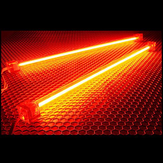 Filtre anti-poussière Revoltec Kit 2 Néons PC - Rouge 30 cm
