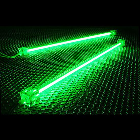 Filtre anti-poussière Revoltec Kit 2 Néons PC - Vert 30 cm